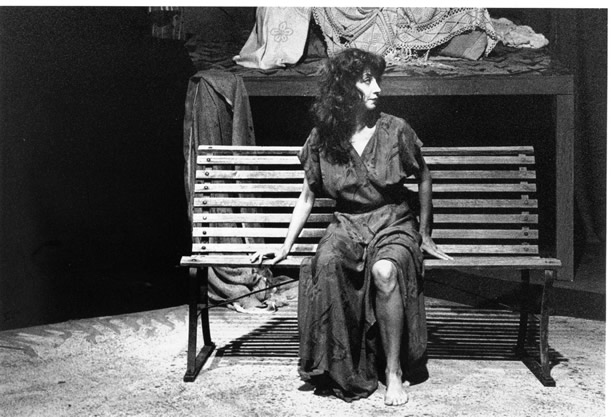 Margarita Meyendorff appearing in Pirandello.
